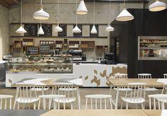 Oude munitieopslag wordt hip café in Londen | roomed.nl