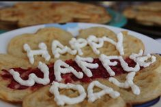 Happy #NationalWaffleDay 🍴don't forget the whip cream