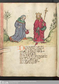 182 [89v] - Ms. germ. qu. 12 - Die sieben weisen Meister - Page - Mittelalterliche Handschriften - Digitale Sammlungen Frankfurt, 1471