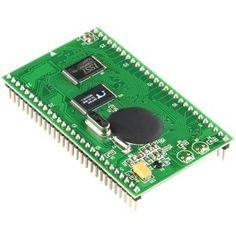 elettroshop.com - Smartvr Module Voice/Speech Recognotion Development, Il Modulo SmartVR è una piattaforma di sviluppo per il riconoscimento voce di facile utilizzo ed economica basata sul processore di segnale mixato Sensory RSC-4128, per lo sviluppo di applicazioni di sintesi e riconoscimento vocale. E' di piccole dimensioni (42mm x 72mm) e presenta due connettore 28-pin aventi 2.54mm di pin spacing, rendendola così adatta a schede prototipo.