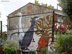 street art in La Rochelle, France #gabrielaaufreisen #france #streetart #frankreich #larochelle