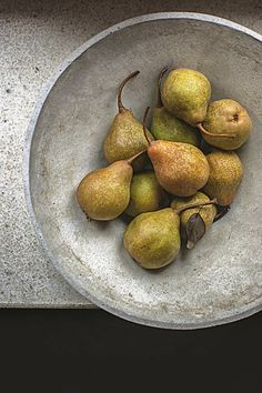 still life with pears; pinned 12/19/13