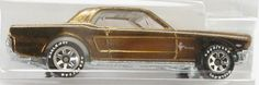 Hot Wheels Classics #2-06 1965 Ford Mustang DK Gold