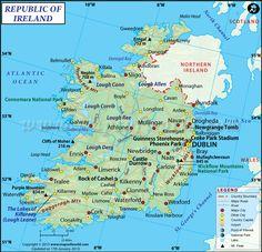 Ireland:  4,832,765:  Capital - Dublin:  Life Expectancy:  80.56 - World Ranking - 123