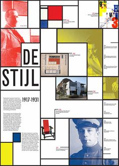 De Stijl Information Broadsheet on Behance