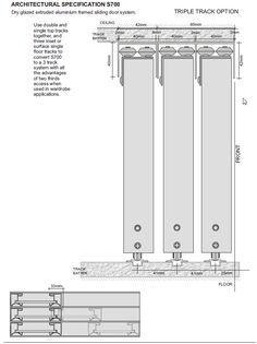 3 Panel Sliding Closet Door Track - Image of Bathroom and Closet Sliding Closet Door Track, Closet Door Hardware, Track Door, Barn Door Closet, Sliding Door Systems, Sliding Wardrobe Doors, Sliding Barn Door Hardware, Sliding Glass Door, Sliding Doors