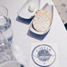 Baby food @ Finlandia Caviar Shop & Restaurant