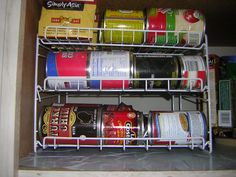 Three Sure-Fire Ways to Organize the Canned Goods in Your Pantry www.addspacetoyourlife.com