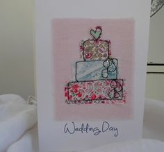 Wedding card by Lynda Drummond