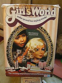 Vintage 70s Girls World Girlsworld complete with makeup and box | eBay