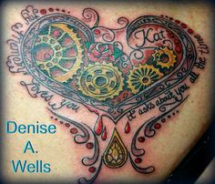 My memory loves you it asks about you all the time tattoo Denise A. Wells