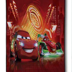 New Design Lightning Mcqueen Cars Race Custom Blanket