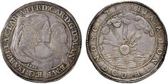 NumisBids: Nomisma Spa Auction 50, Lot 120 : MANTOVA Ferdinando Carlo Gonzaga (reggenza, 1665-1669) Ducatone 1666...