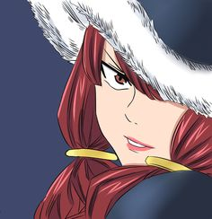 Eileen // Does anyone have that theory about how Erza and Eileen could be related??