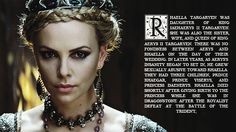 Charlize Theron as Rhaella Targaryen