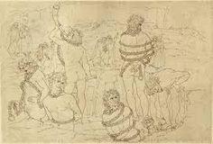 Image result for botticelli inferno illustrations