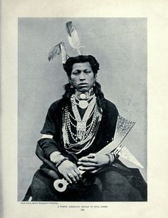 A North American Indian in Full Dress, from The Living Races of Mankind v.II, c.1902