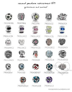 pandora retirement part ii 2014 accent charms