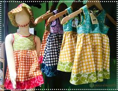 Your little one can never have too many #dresses! Keep her looking her best in adorable gear made especially for little girls #PeaceOfTheEarth #ShopLocal