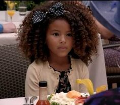 Love the hair. Widh my daughter would embrace her curls instead of straightening.