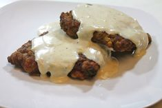 Country Chicken Fried Steak with White Gravy