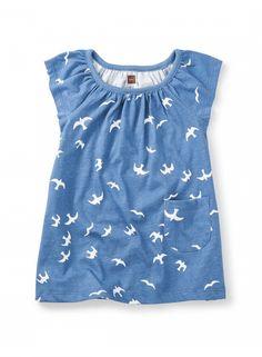 Kookaburra Flutter Baby Dress   Tea Collection