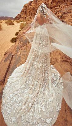 Featured Dress: Oksana Mukha;www.oksana-mukha.com; Wedding dress idea.