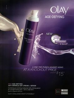 Olay Age Defying AntiWrinkle Day Cream and Serum...powerful anti-aging for under $15 Olay Age Defying, Beauty Tips For Face, Anti Aging Serum, Younger Looking Skin, Skin Firming, Anti Wrinkle, Organic Skin Care, Skin Care Tips, Beauty Products