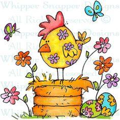 Floral Spring Chicken