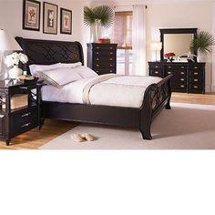 Love This Bed Black Sleigh Bedsking Bedroom Setsmaster