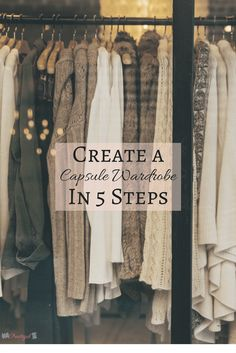 A capsule wardrobe can make your life easier by saving you time, money, and space in your closet. And it will lessen the stress of deciding what to wear! Summer Minimalist, Minimalist Closet, Minimalist Fashion, Minimalist Style, Minimalist Lifestyle, Minimalist Living, Wardrobe Sets, Wardrobe Closet, Closet Clothing