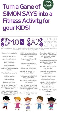 fitness activities for kids fun / fitness activities for kids ; fitness activities for kids exercises ; fitness activities for kids fun Physical Activities For Kids, Learning Activities, Preschool Activities, Kids Learning, Movement Activities, Pe Games For Kindergarten, Activity Games For Kids, Elementary Physical Education, Nanny Activities