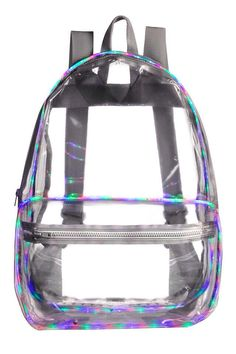 Clear backpacks are the dream