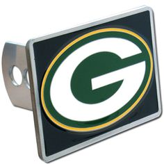 Green Bay Packers NFL Hitch Cover. For product info go to:  https://www.caraccessoriesonlinemarket.com/green-bay-packers-nfl-hitch-cover/