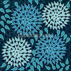 Beautiful floral texture — Stock Illustration #4714389