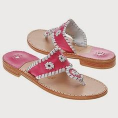 In My Closet: Jack Roger Navajo Sandals (The Pink Lyme)