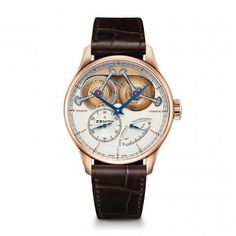Zenith Academy Georges Favre Jacot watch face view