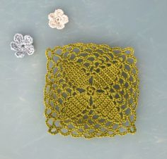 japanese crochet motif | curio thread