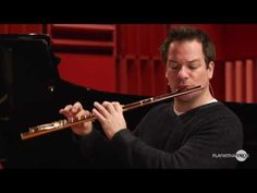 Flute lessons, Breathing Fundamentals for Flute with Steenstrup, Prokofiev flute sonata - YouTube