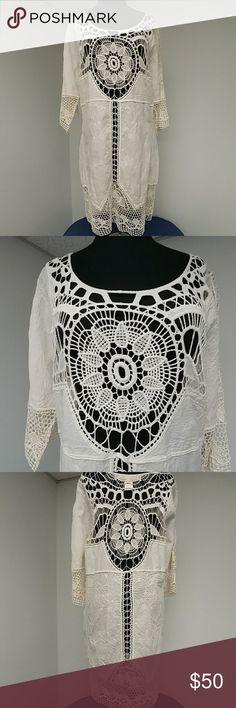 e0c6a9d0e268b7 Off white lace boho dress Love Stitch new w o tags. Never worn.