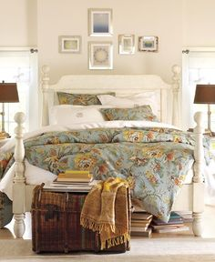 pottery barn look #bedroom