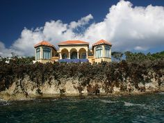 Incredible view from this home on Roatan Island in the Caribbean!