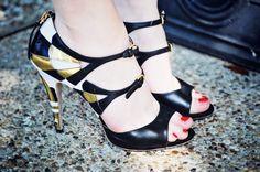 Sea of Shoes: Miu Miu Art Deco heels