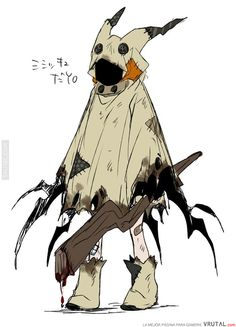 you are not a Pokemon but you act like mimikyu your alone and you don… # Fantasy # amreading # books # wattpad Gijinka Pokemon, O Pokemon, Pokemon Fan Art, Pokemon Cosplay, Creepy Pokemon, Pokemon Fusion, Pokemon Cards, Fantasy Character Design, Character Design Inspiration