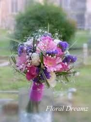 vibrant pink and purple wedding flowers - Google Search