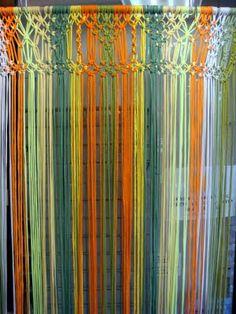 Zpagetti Macrame door hanging