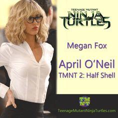 Megan Fox's cool April O'Neil look  #TMNT #NinjaTurtles #TMNTMovie #TMNT2 #MeganFox