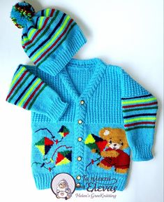 Πλεκτό χειροποίητο σετ , αποτελείται από ζακετάκι και σκουφάκι Sweaters, Fashion, Moda, Fashion Styles, Sweater, Fashion Illustrations, Sweatshirts, Pullover Sweaters, Pullover