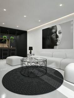 Inspiration And Ideas Contemporary Interior Designblack