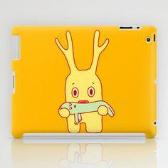 Deflated friend iPad Case by simon oxley idokungfoo.com - $60.00